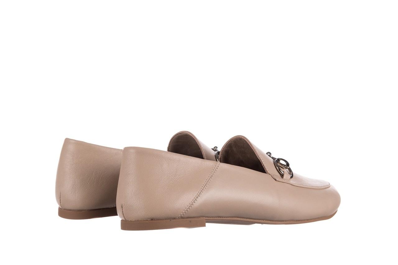 Półbuty bayla-161 088 6415 popielaty, skóra naturalna  - półbuty - buty damskie - kobieta 9