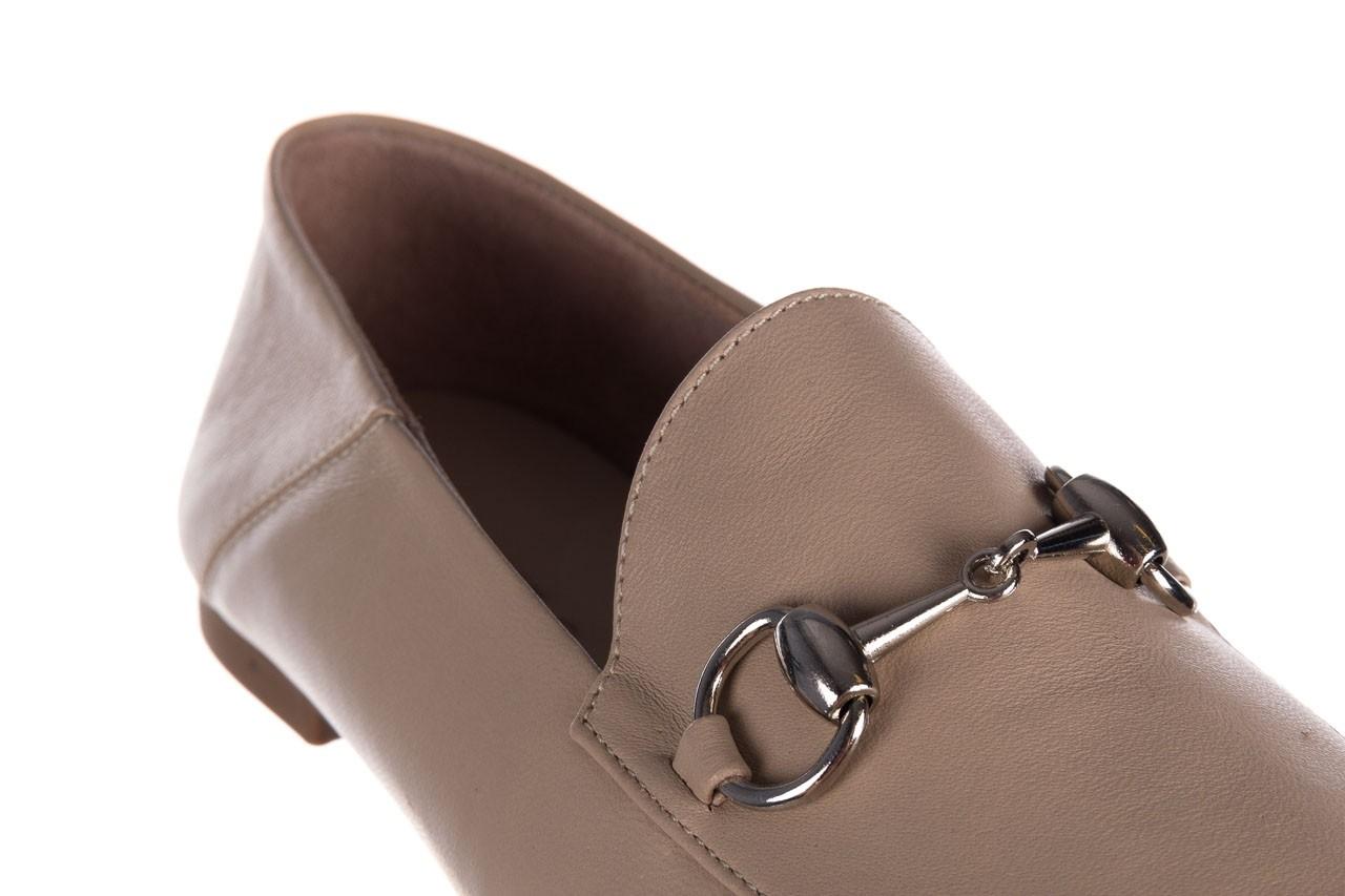 Półbuty bayla-161 088 6415 popielaty, skóra naturalna  - półbuty - buty damskie - kobieta 11