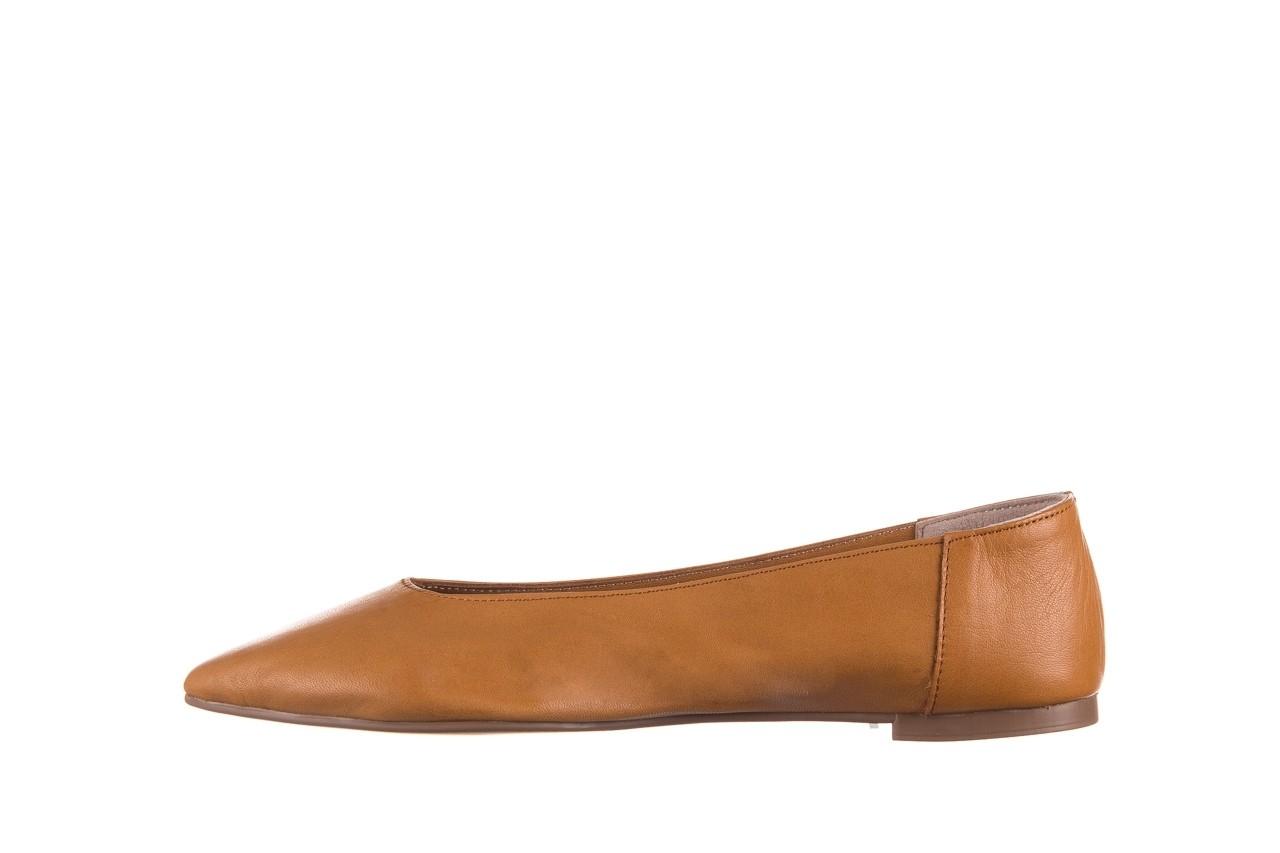 Baleriny bayla-161 093 388 4010 tan, brąz, skóra naturalna - skórzane - baleriny - buty damskie - kobieta 8