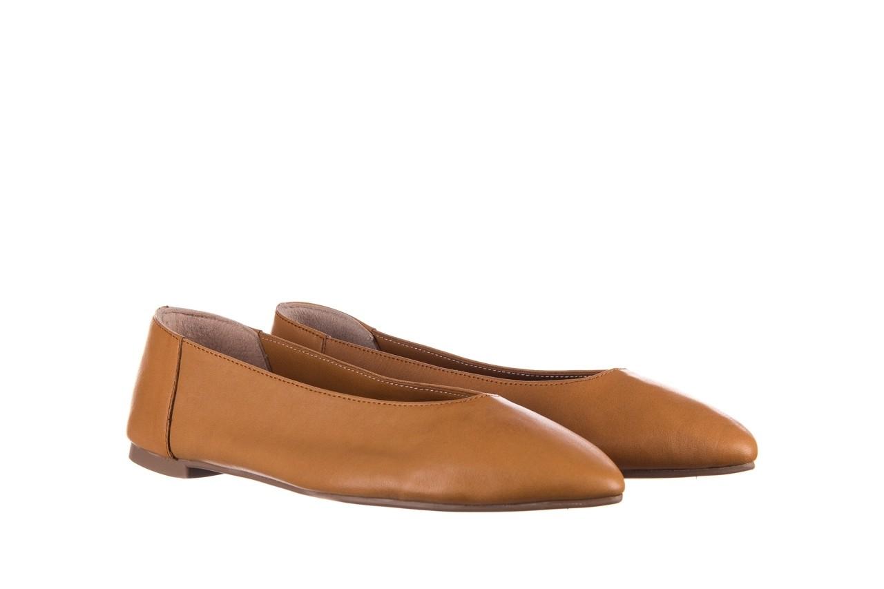 Baleriny bayla-161 093 388 4010 tan, brąz, skóra naturalna - skórzane - baleriny - buty damskie - kobieta 7