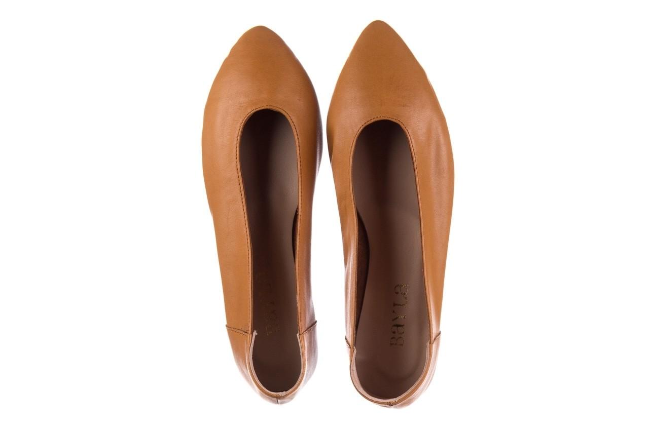 Baleriny bayla-161 093 388 4010 tan, brąz, skóra naturalna - skórzane - baleriny - buty damskie - kobieta 10