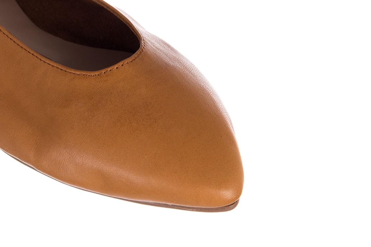Baleriny bayla-161 093 388 4010 tan, brąz, skóra naturalna - skórzane - baleriny - buty damskie - kobieta 11