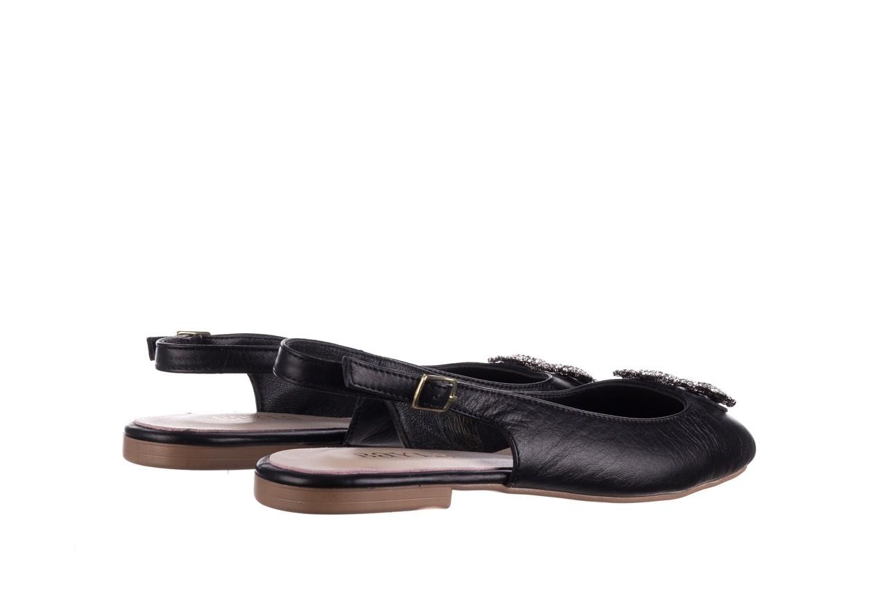 Sandały bayla-161 093 388 4054 black 20, czarny, skóra naturalna 9