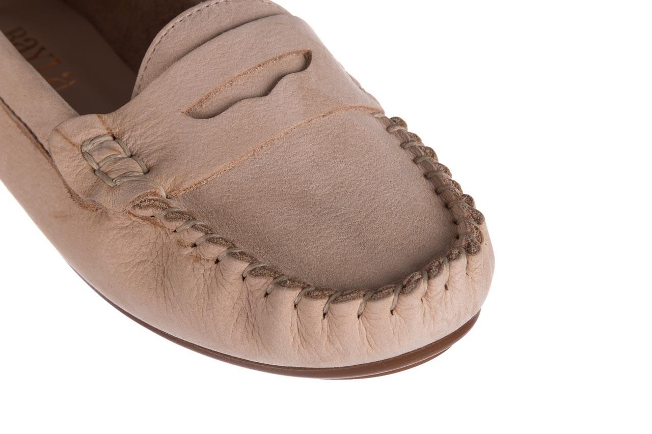 Mokasyny bayla-161 093 388 6004 beż, skóra naturalna  - półbuty - buty damskie - kobieta 11