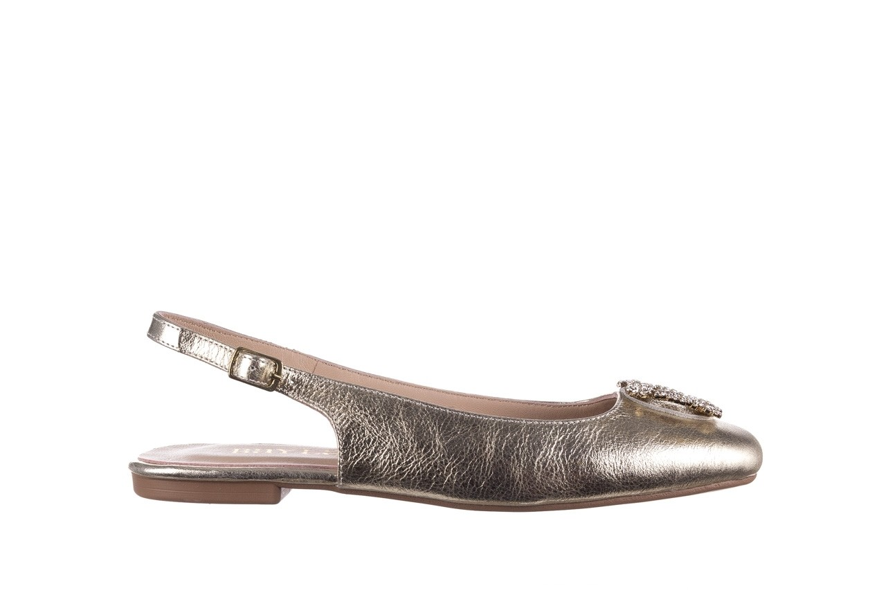 Sandały bayla-161 093 388 4054 gold 20, złoty, skóra naturalna  - sandały - buty damskie - kobieta 6