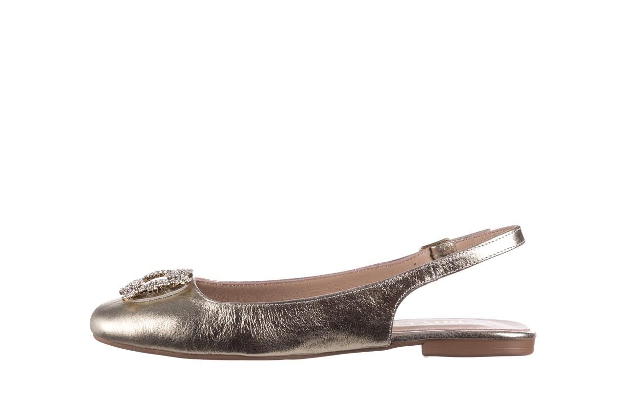 Sandały bayla-161 093 388 4054 gold 20, złoty, skóra naturalna  - sandały - buty damskie - kobieta 8