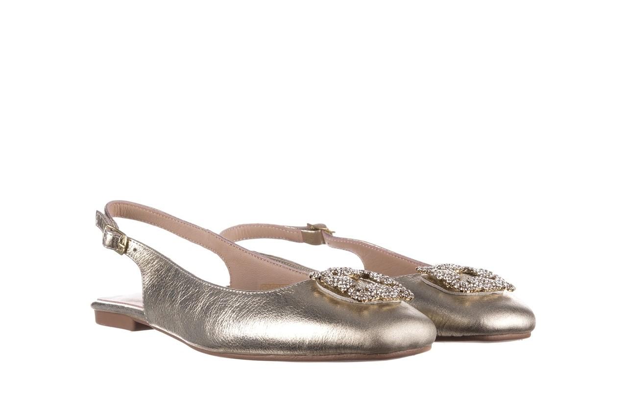 Sandały bayla-161 093 388 4054 gold 20, złoty, skóra naturalna  - sandały - buty damskie - kobieta 7