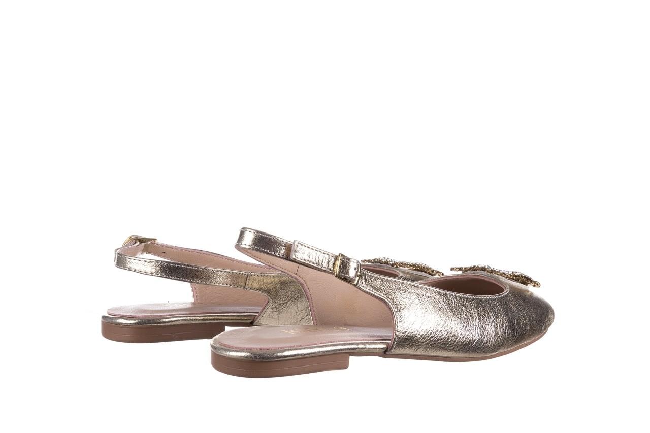 Sandały bayla-161 093 388 4054 gold 20, złoty, skóra naturalna  - sandały - buty damskie - kobieta 9