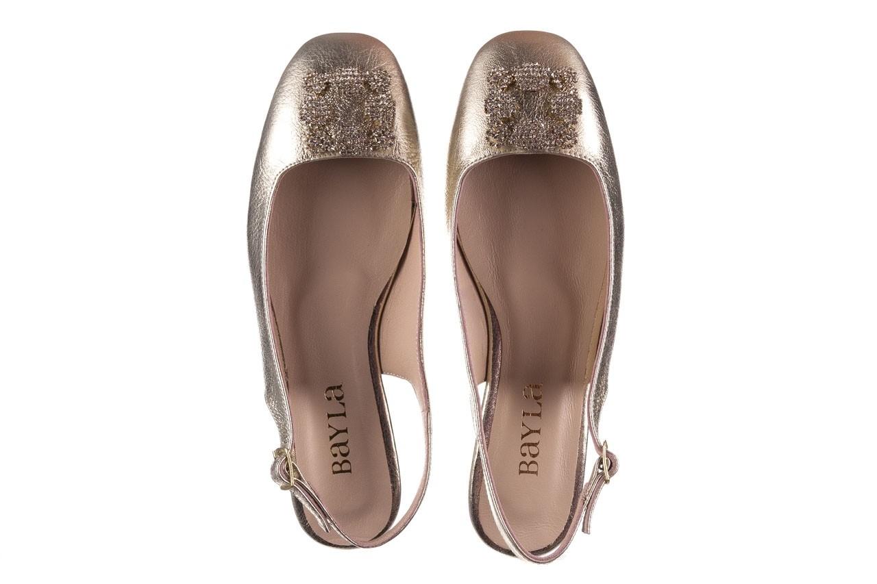 Sandały bayla-161 093 388 4054 gold 20, złoty, skóra naturalna  - sandały - buty damskie - kobieta 10