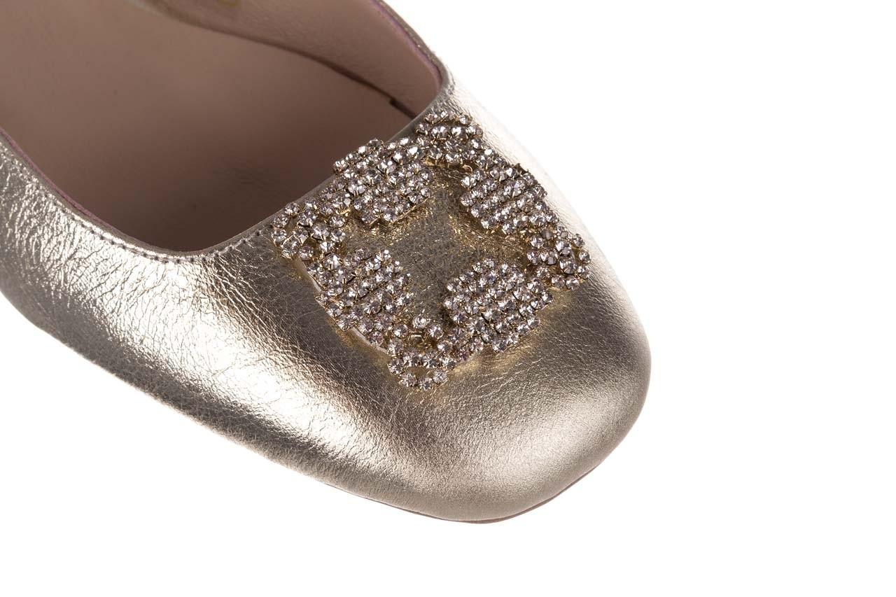 Sandały bayla-161 093 388 4054 złoty, skóra naturalna 11
