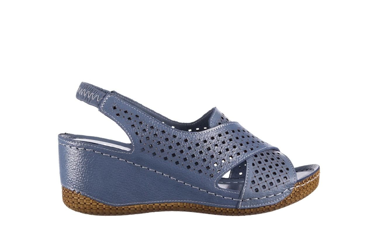 Sandały bayla-161 054 3010 niebieski, skóra naturalna  - bayla - nasze marki 7
