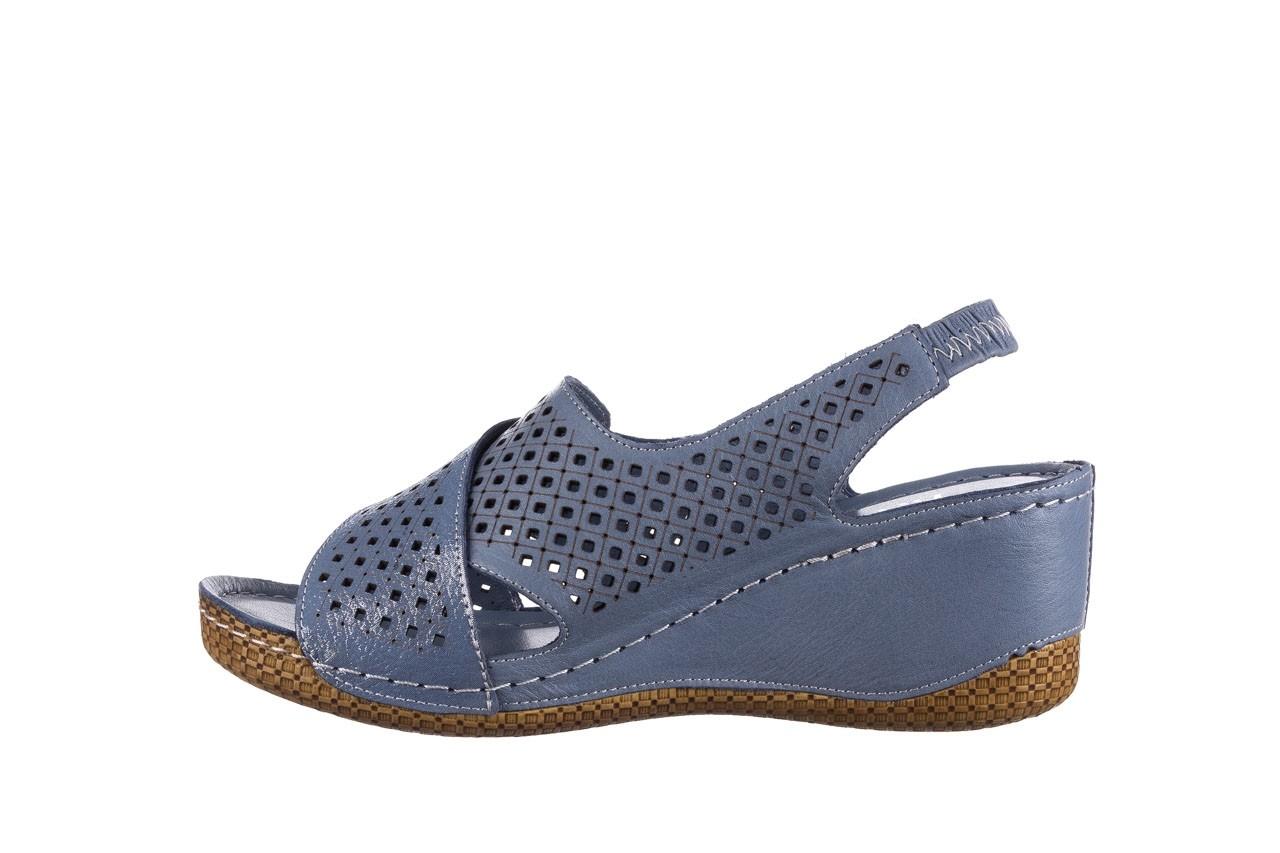 Sandały bayla-161 054 3010 niebieski, skóra naturalna  - bayla - nasze marki 9