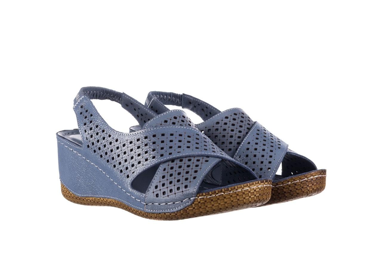 Sandały bayla-161 054 3010 niebieski, skóra naturalna  - bayla - nasze marki 8