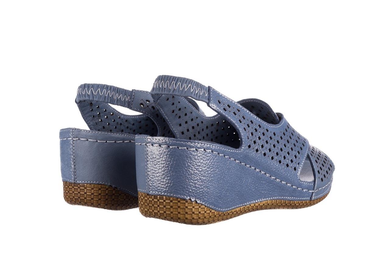 Sandały bayla-161 054 3010 niebieski, skóra naturalna  - bayla - nasze marki 10