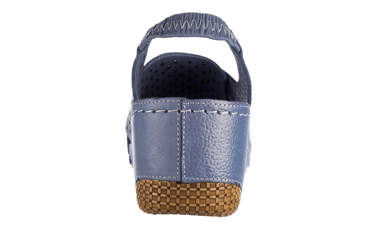 Sandały bayla-161 054 3010 niebieski, skóra naturalna  - bayla - nasze marki 13