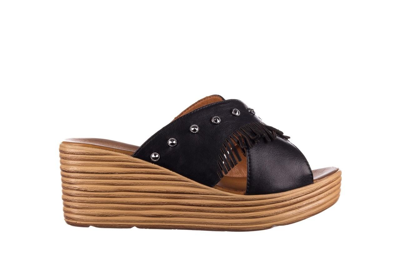 Koturny bayla-161 066 475 czarny, skóra naturalna  - koturny - buty damskie - kobieta 6