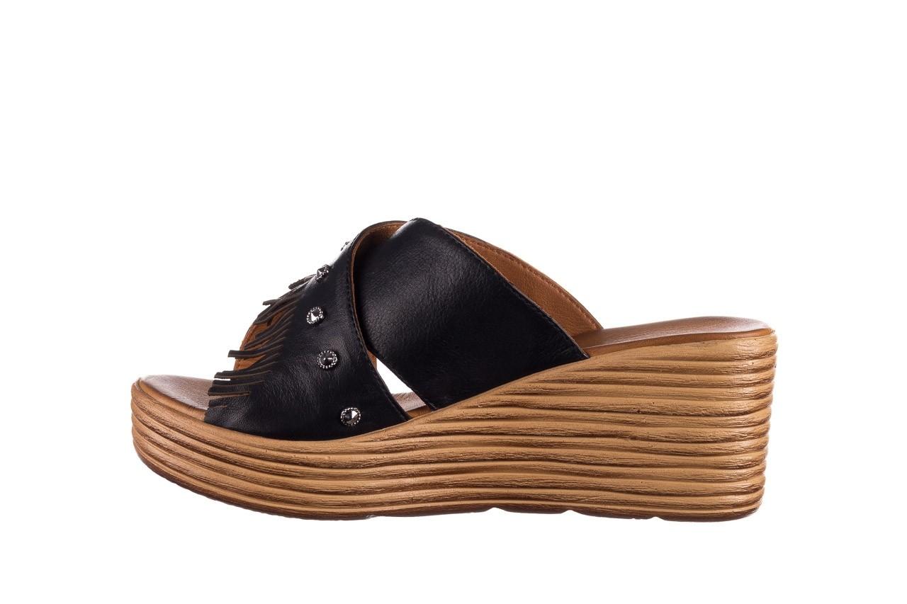 Koturny bayla-161 066 475 czarny, skóra naturalna  - koturny - buty damskie - kobieta 8