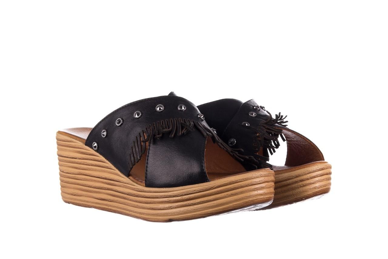 Koturny bayla-161 066 475 czarny, skóra naturalna  - koturny - buty damskie - kobieta 7
