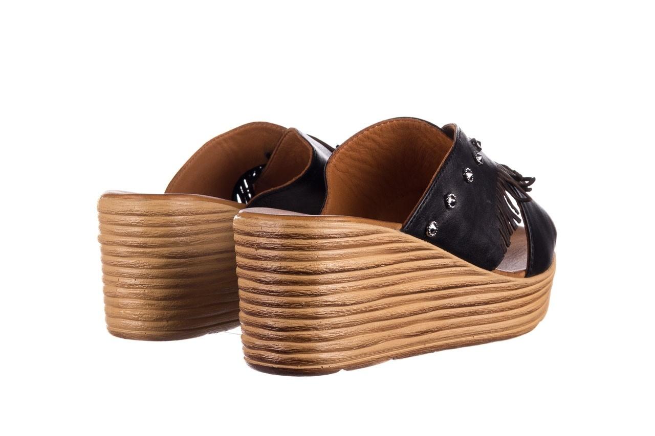Koturny bayla-161 066 475 czarny, skóra naturalna  - koturny - buty damskie - kobieta 9