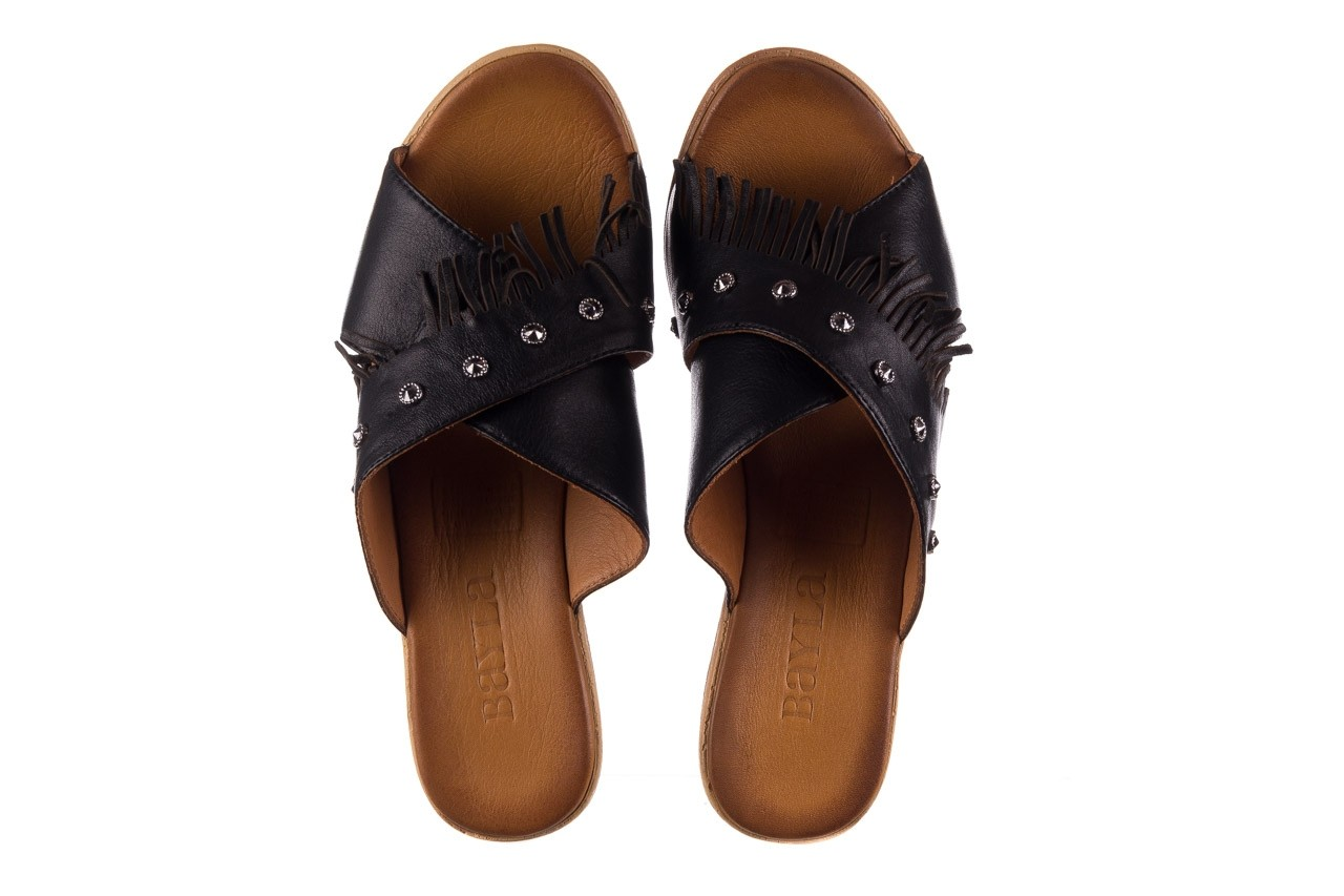 Koturny bayla-161 066 475 czarny, skóra naturalna  - koturny - buty damskie - kobieta 10
