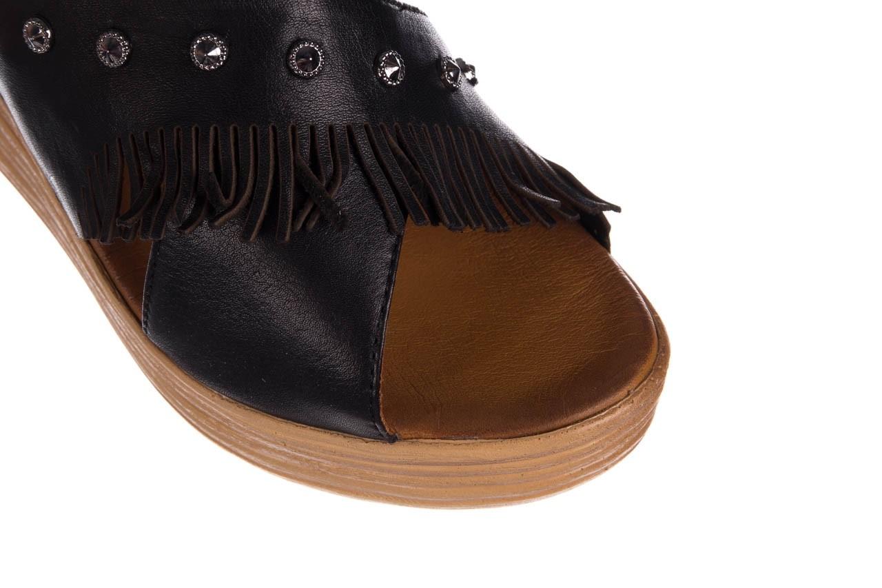 Koturny bayla-161 066 475 czarny, skóra naturalna  - koturny - buty damskie - kobieta 11