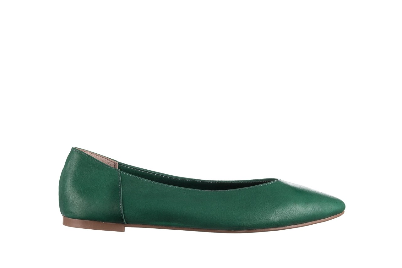 Baleriny bayla-161 093 388 4010 khaki, zielony, skóra naturalna  - bayla - nasze marki 6