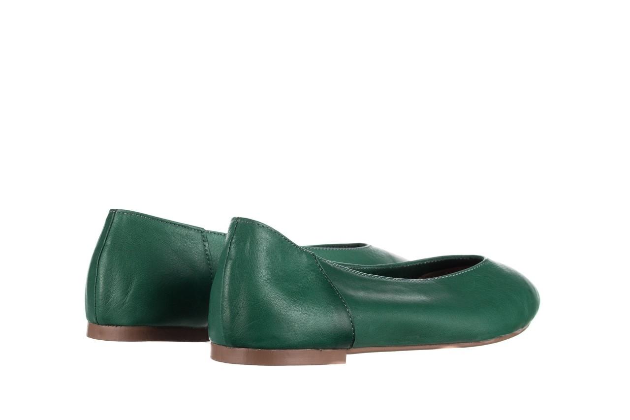 Baleriny bayla-161 093 388 4010 khaki, zielony, skóra naturalna  - bayla - nasze marki 9