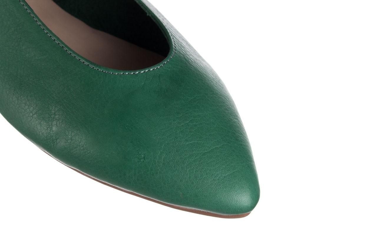 Baleriny bayla-161 093 388 4010 khaki, zielony, skóra naturalna  - bayla - nasze marki 11