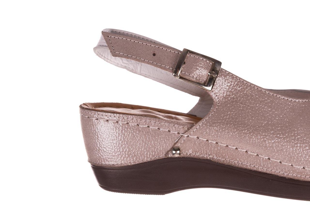 Sandały bayla-112 0158-58 biały szary, skóra naturalna  - bayla - nasze marki 13