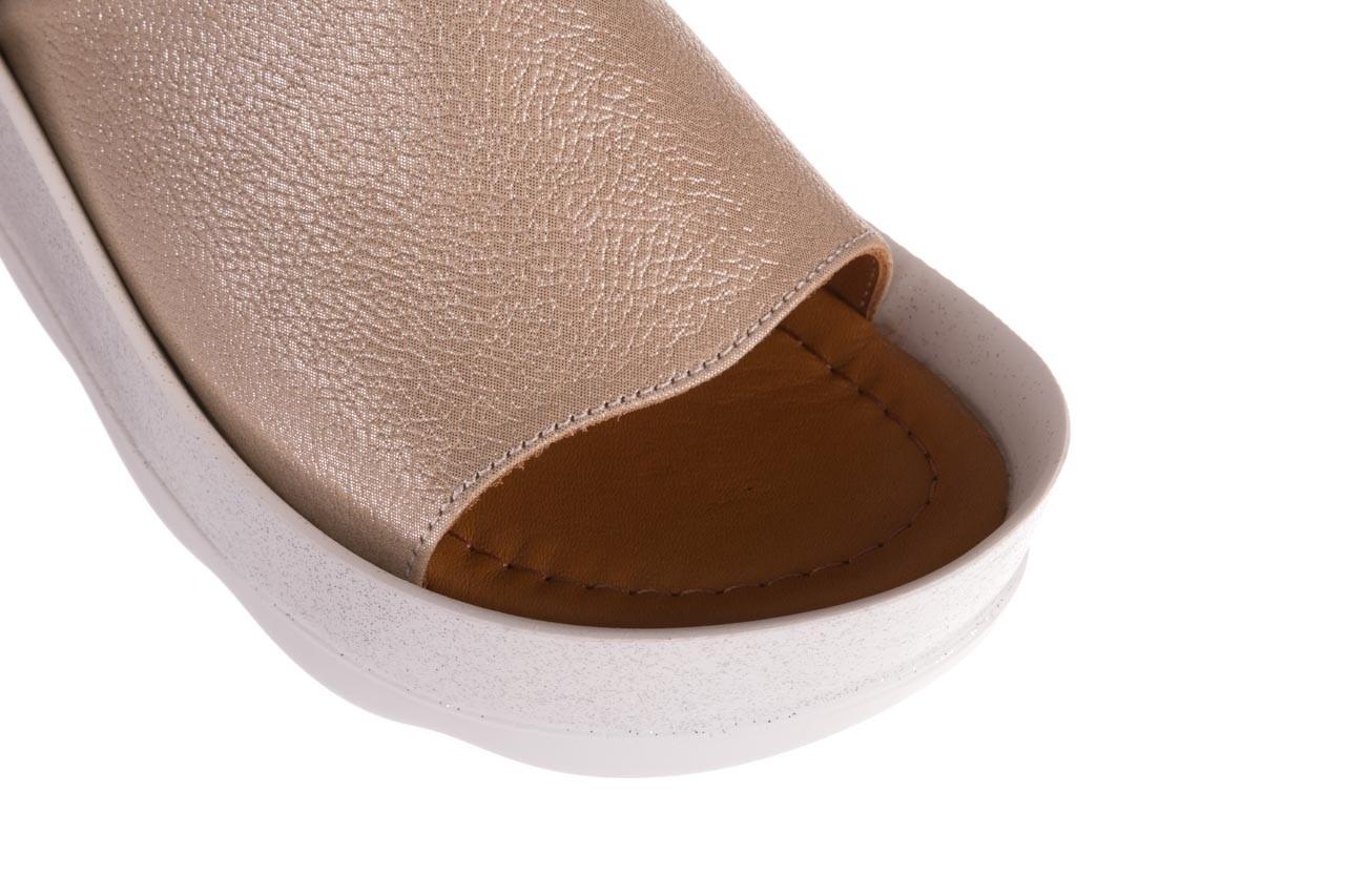 Klapki bayla-112 0088-001 beż, skóra naturalna  - bayla - nasze marki 12