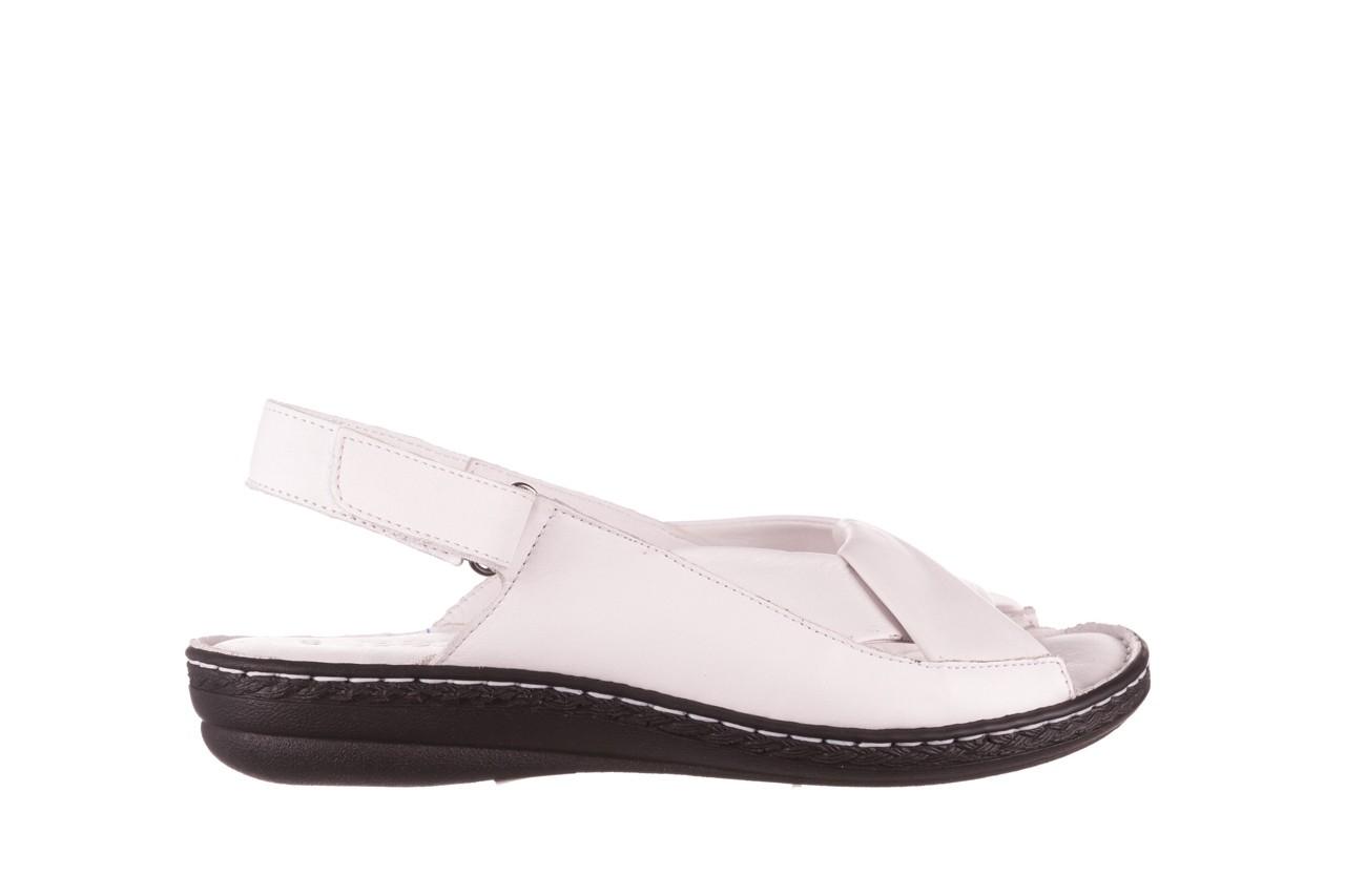 Sandały bayla-112 0277-411-453 biały, skóra naturalna  - bayla - nasze marki 7