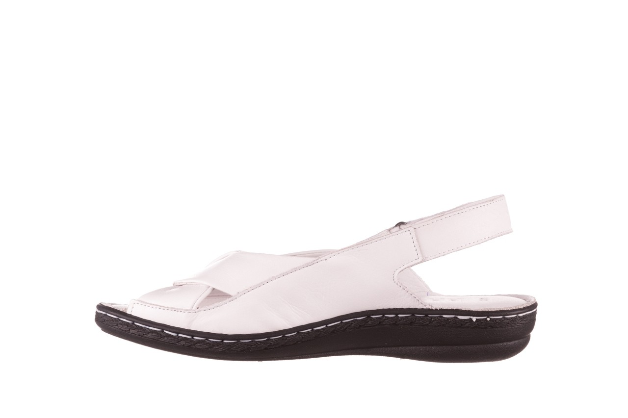 Sandały bayla-112 0277-411-453 biały, skóra naturalna  - bayla - nasze marki 9