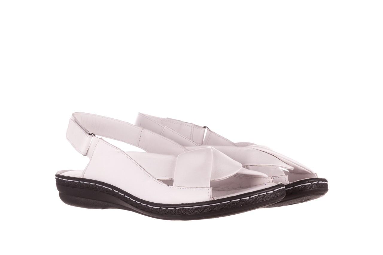Sandały bayla-112 0277-411-453 biały, skóra naturalna  - bayla - nasze marki 8
