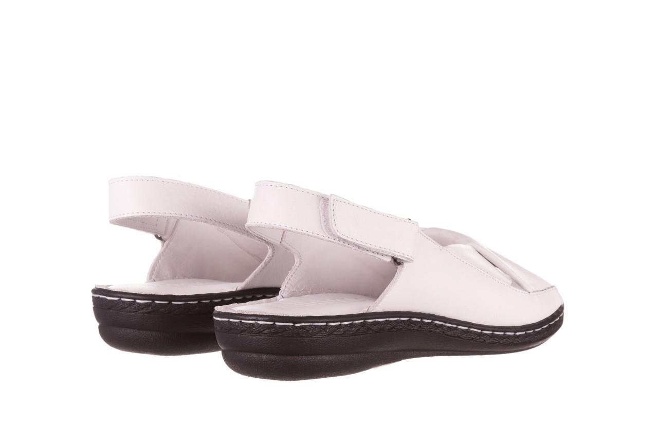 Sandały bayla-112 0277-411-453 biały, skóra naturalna  - bayla - nasze marki 10