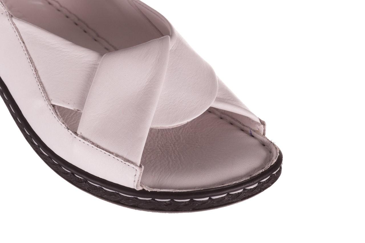 Sandały bayla-112 0277-411-453 biały, skóra naturalna  - bayla - nasze marki 12