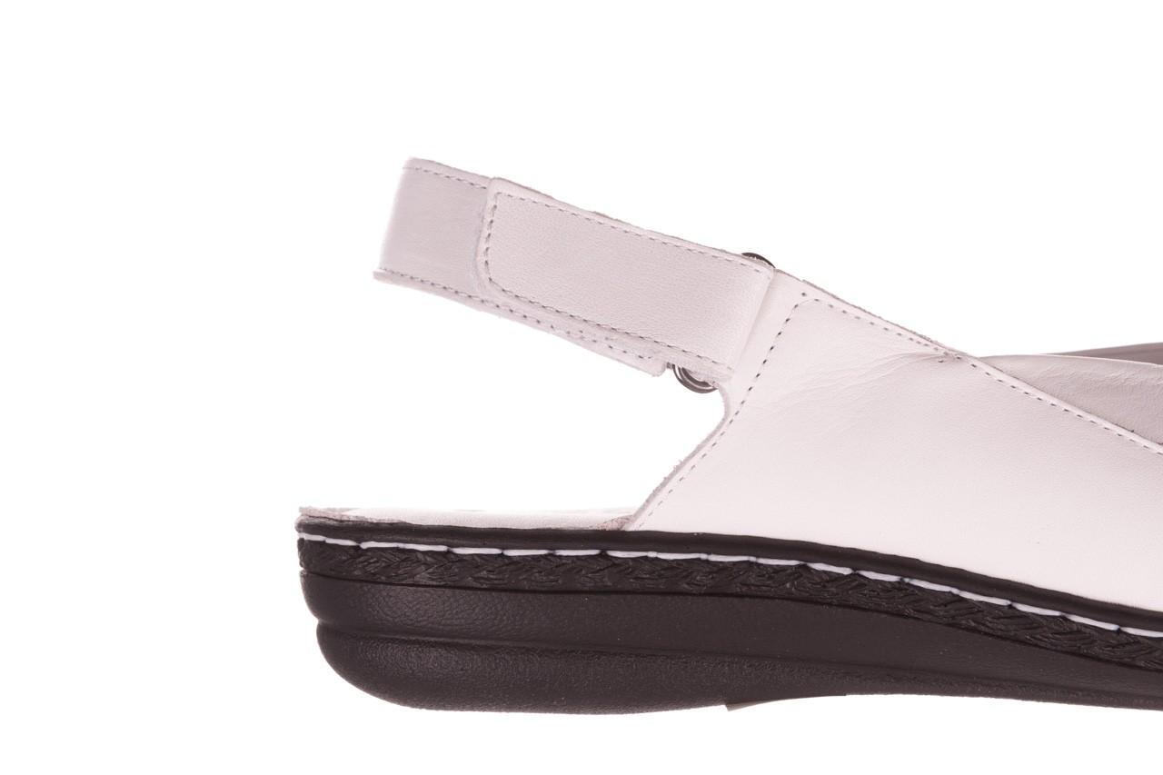 Sandały bayla-112 0277-411-453 biały, skóra naturalna  - bayla - nasze marki 13