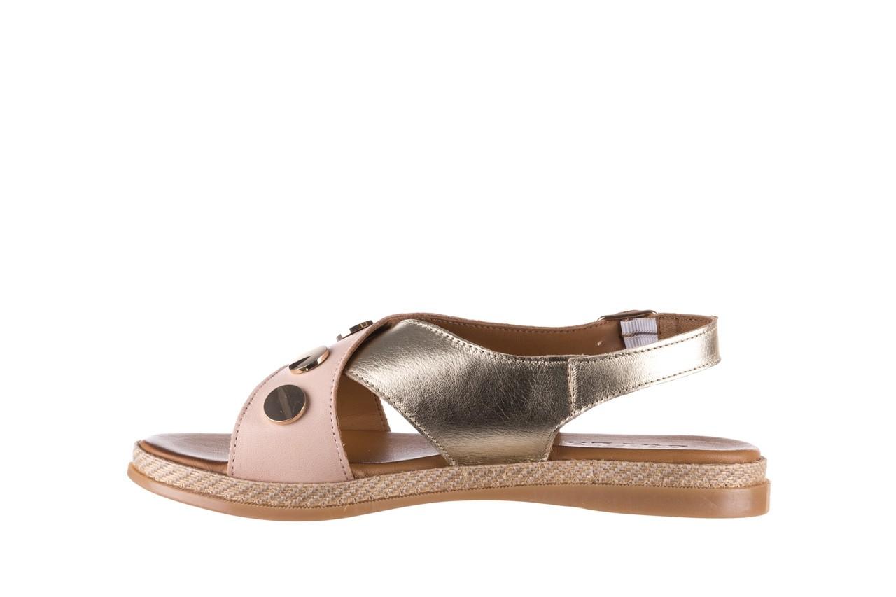 Sandały bayla-176 117 różowy złoty, skóra naturalna  - bayla - nasze marki 9