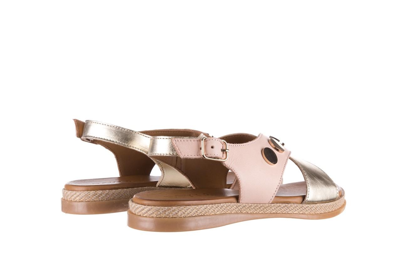 Sandały bayla-176 117 różowy złoty, skóra naturalna  - bayla - nasze marki 10