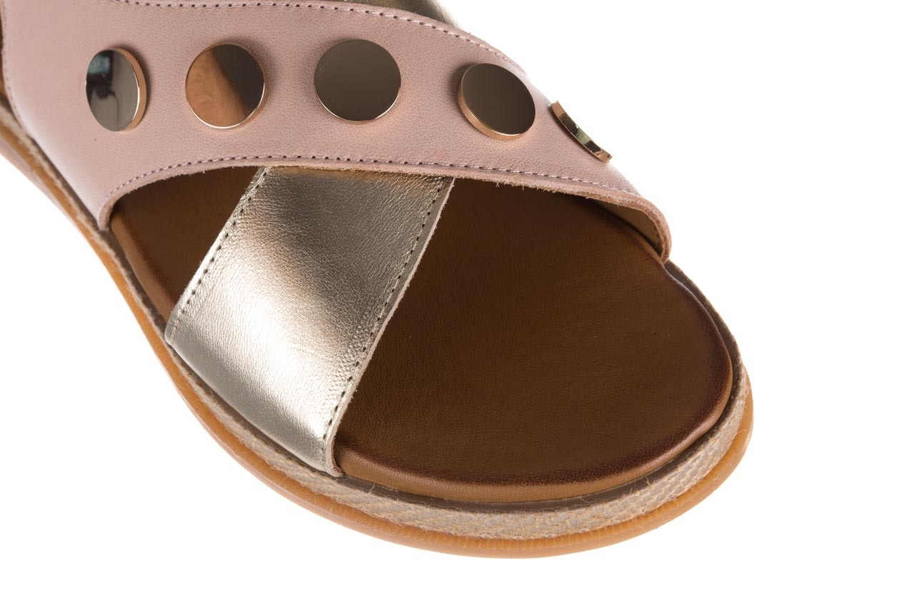 Sandały bayla-176 117 różowy złoty, skóra naturalna  - bayla - nasze marki 12