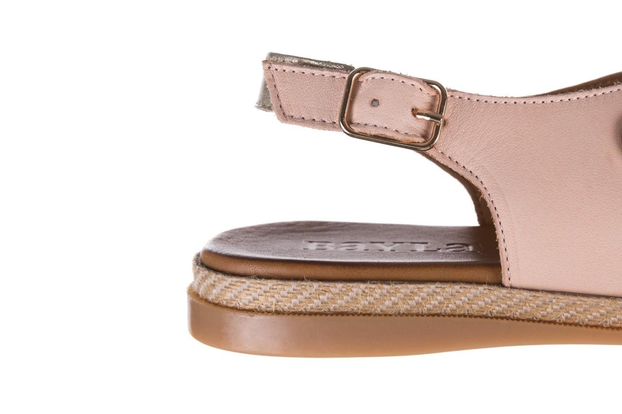 Sandały bayla-176 117 różowy złoty, skóra naturalna  - bayla - nasze marki 13