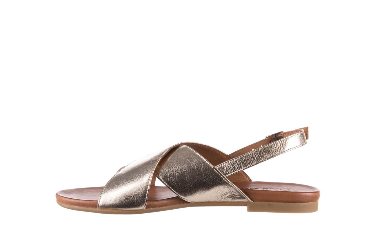 Sandały bayla-176 8641 złoty, skóra naturalna  - bayla - nasze marki 9