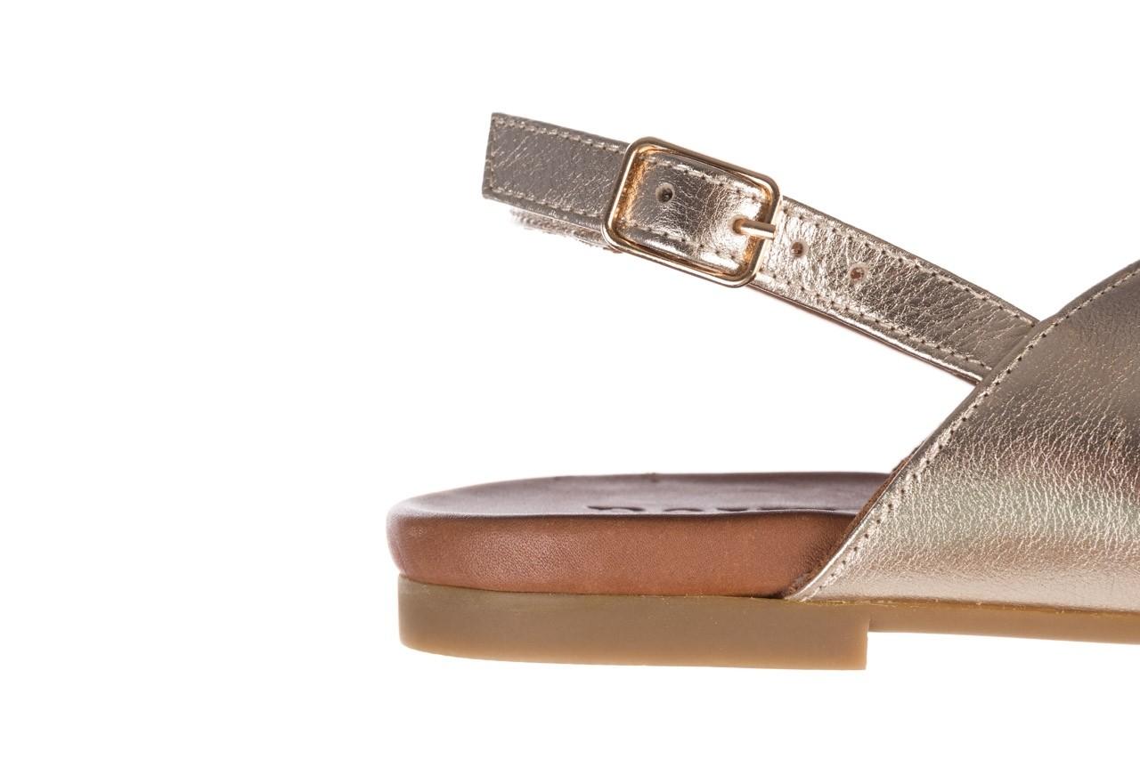 Sandały bayla-176 8641 złoty, skóra naturalna  - bayla - nasze marki 13
