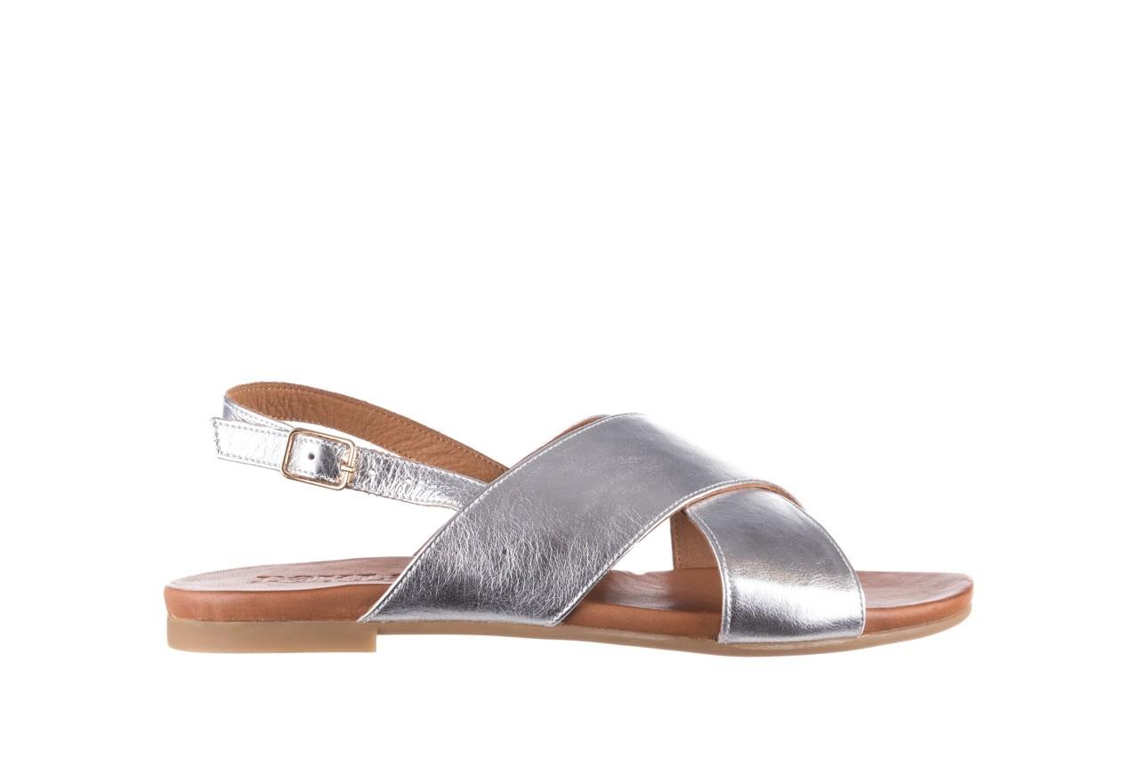 Sandały bayla-176 8641 silver, srebrny, skóra naturalna  - bayla - nasze marki 7