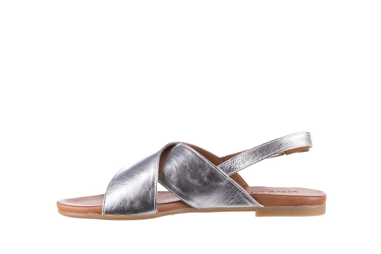 Sandały bayla-176 8641 silver, srebrny, skóra naturalna  - bayla - nasze marki 9