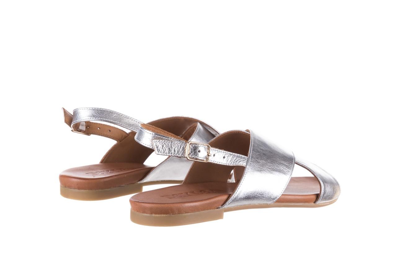 Sandały bayla-176 8641 silver, srebrny, skóra naturalna  - bayla - nasze marki 10