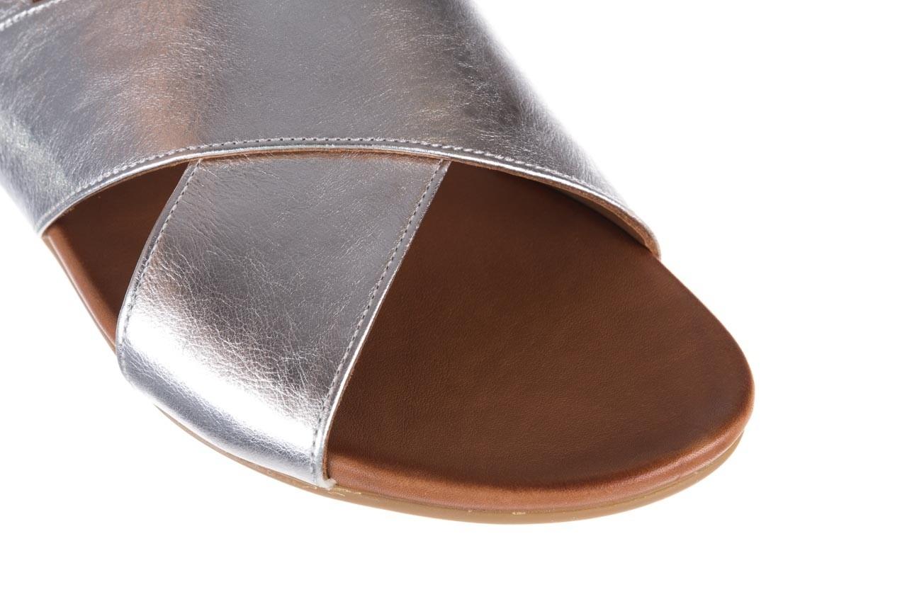 Sandały bayla-176 8641 silver, srebrny, skóra naturalna  - bayla - nasze marki 12