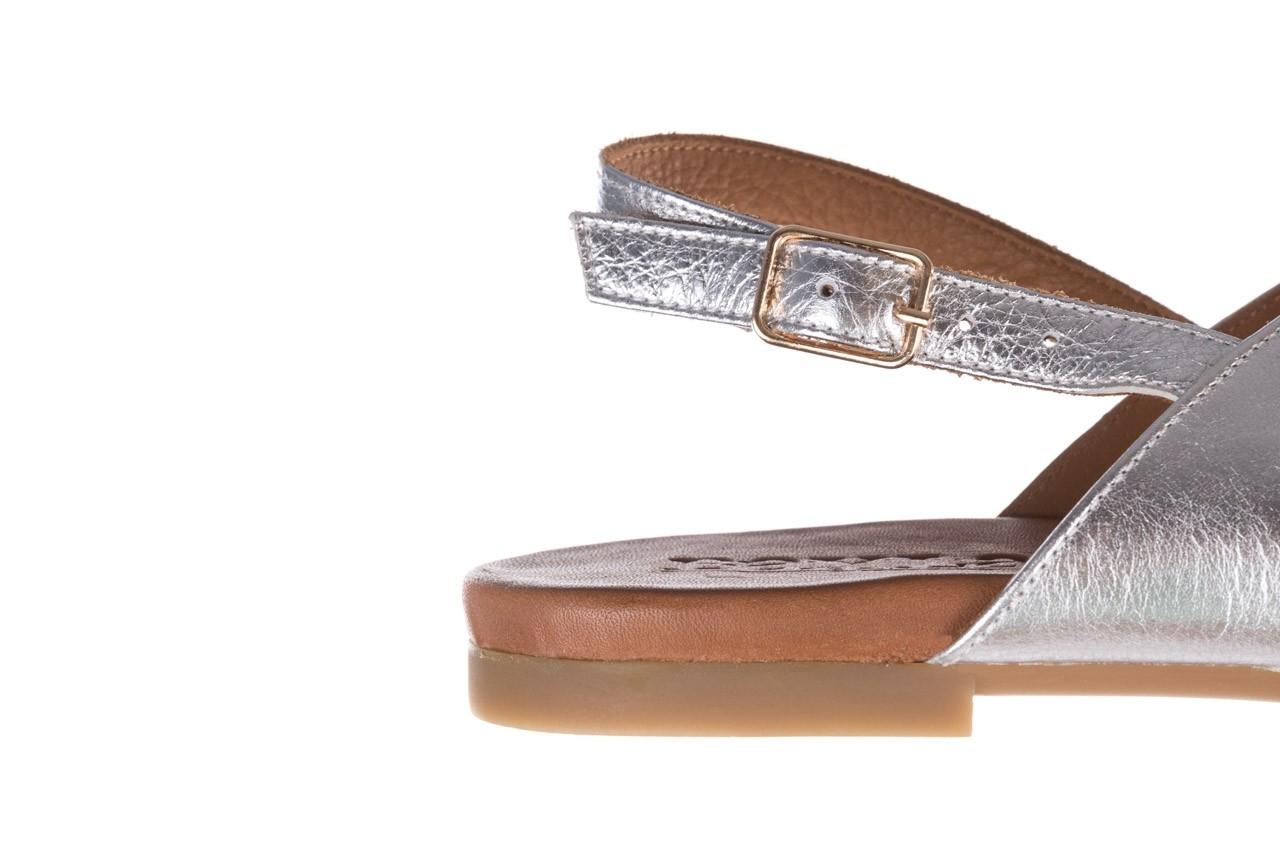 Sandały bayla-176 8641 silver, srebrny, skóra naturalna  - bayla - nasze marki 13