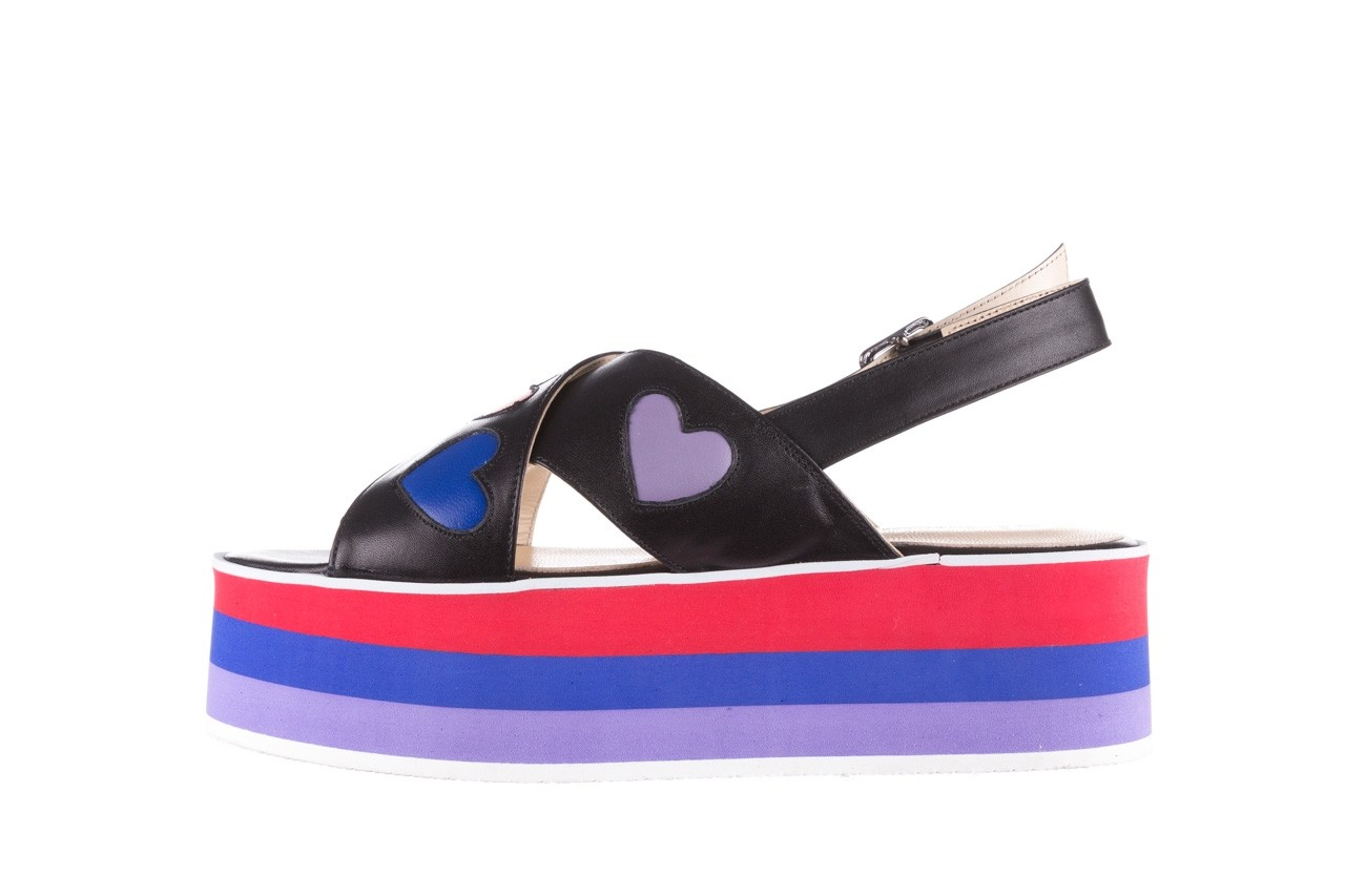 Sandały bayla-176 19136 czarny, skóra naturalna  - na platformie - sandały - buty damskie - kobieta 9