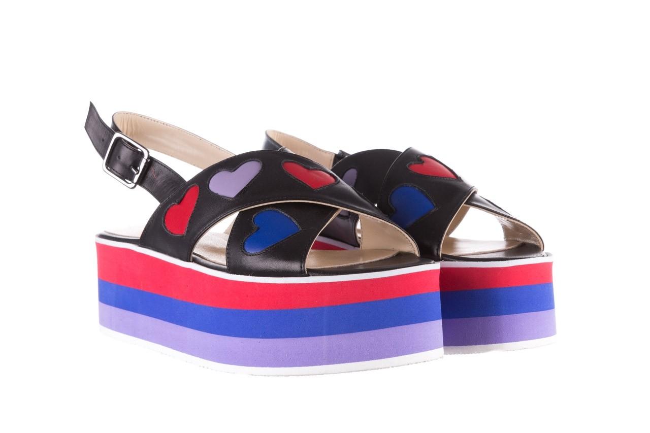 Sandały bayla-176 19136 czarny, skóra naturalna  - na platformie - sandały - buty damskie - kobieta 8