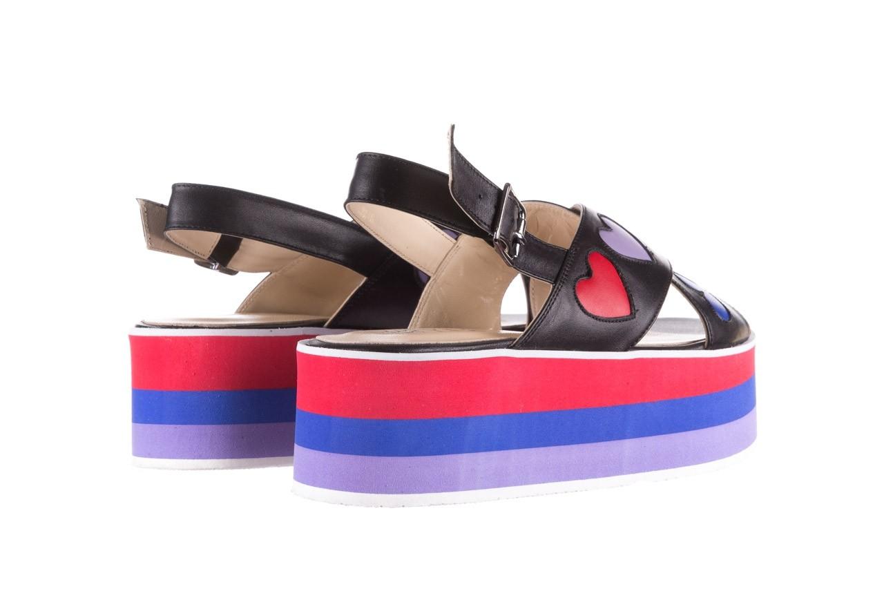 Sandały bayla-176 19136 czarny, skóra naturalna  - na platformie - sandały - buty damskie - kobieta 10